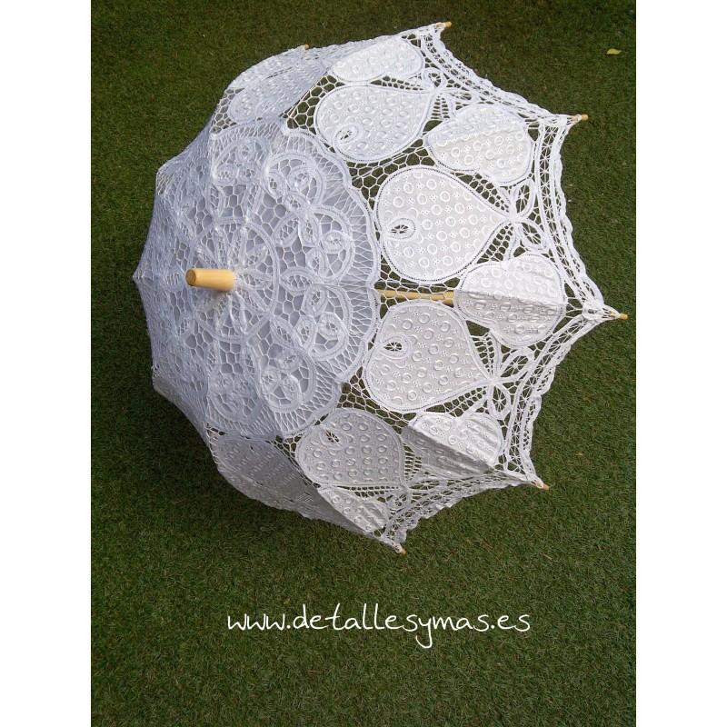 Sombrilla de novia barata de encaje - Sombrilla de pared ...