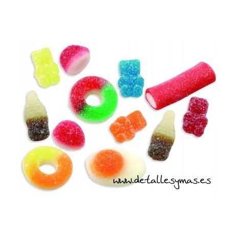 Mini mix de gominolas con azucar