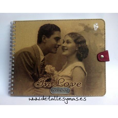 Libro de firmas In Love