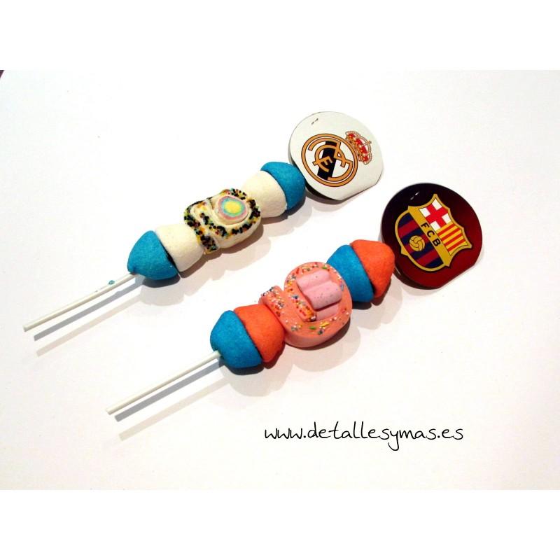Pincho gominolas real madrid bar a detalles regalos y for Pinchos de gominolas
