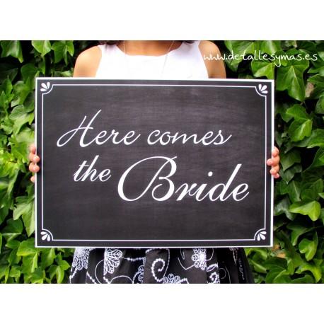 Cartel Here comes the Bride Retro
