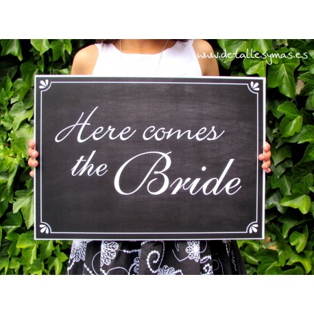 Cartel Here comes the Bride Retro