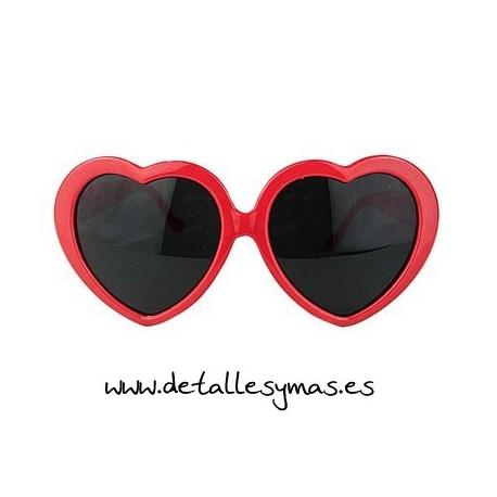 Gafas Gigantes corazón
