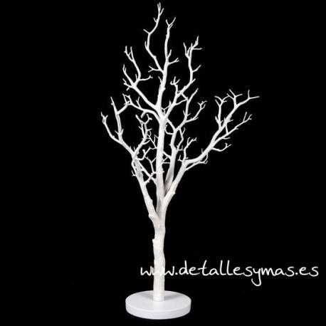 Arbol de los deseos Blanco . 90 cms