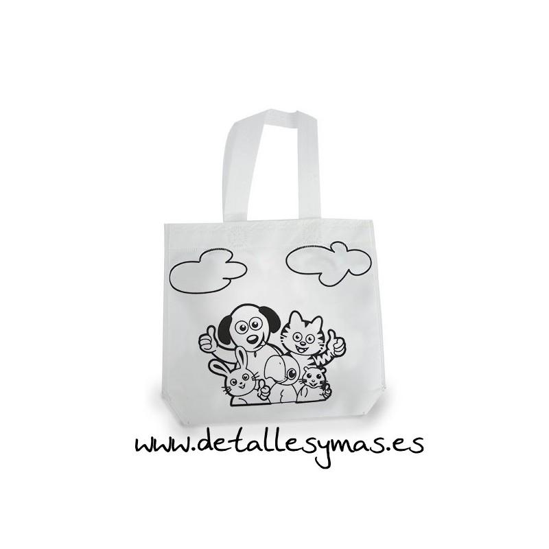 Bolsas para pintar - Bolsas de tela para ninos ...