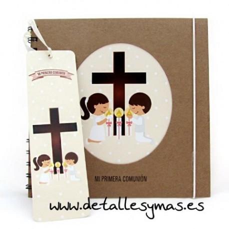 Album de comunión Cruz