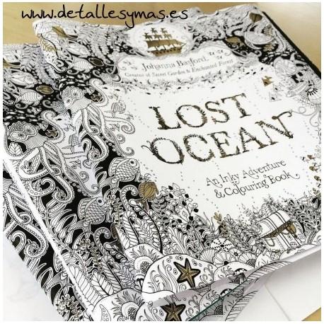 Libros de Mandalas .  Lost Ocean