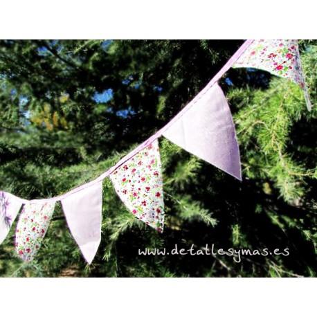 Banderines rosa pequeños
