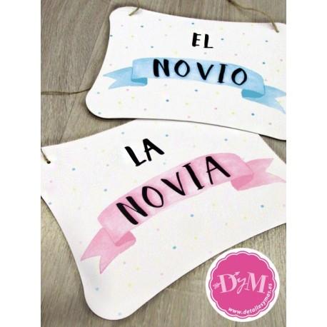 Carteles Novios Banner