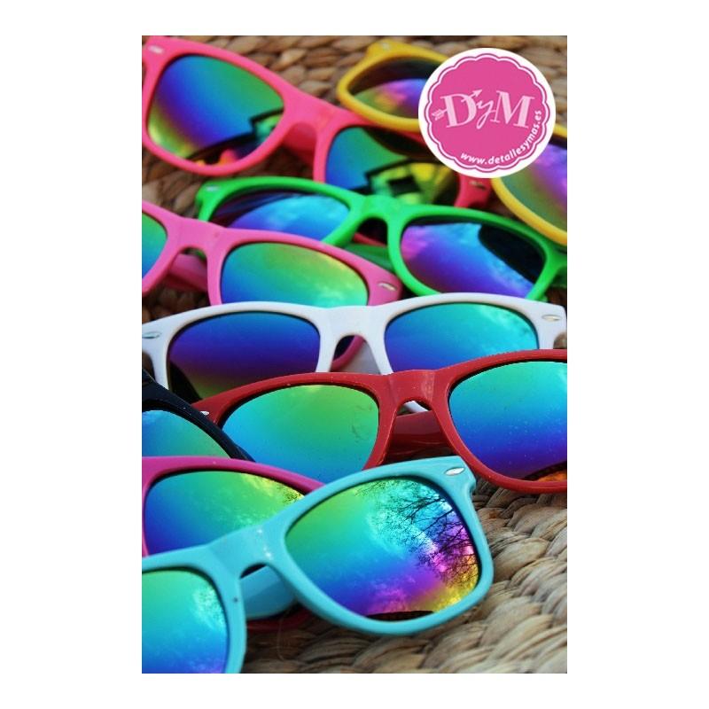 Gafas de sol colores cristal espejo for Cristal espejo