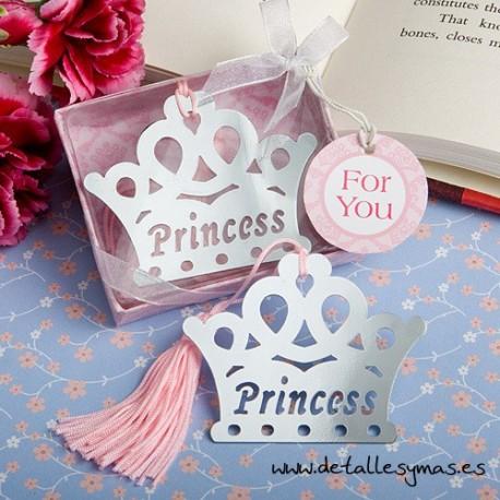 Marcapaginas Corona de Princesa