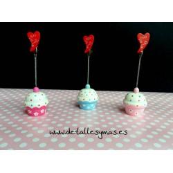 Pinzas Cupcake