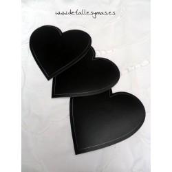 Pizarras adhesivas de corazón