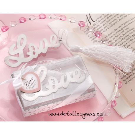 Punto de libro LOVE