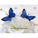 Mariposas decorativas. Set de 6