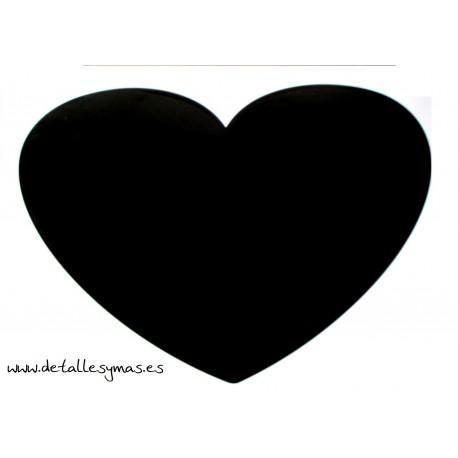Pizarra adhesiva corazón