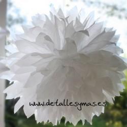 Pom pom de papel de seda 40 cms