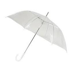 Paraguas transparente automático. 1 metro