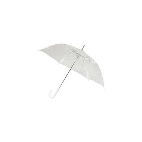 Paraguas para novios automático transparente