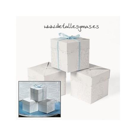 Cajas con relieve