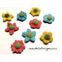 Flores de gominolas