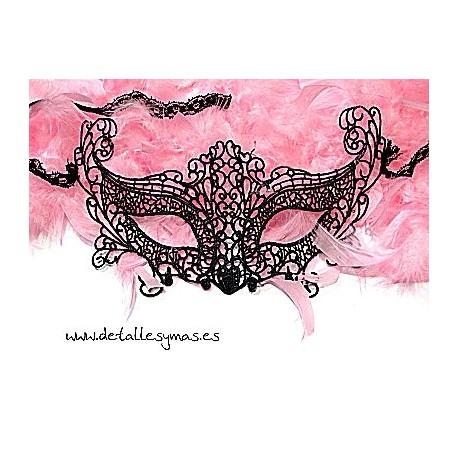 Máscara de encaje Bohemme