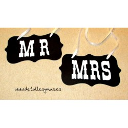 Cartel Mr and Mrs Pizarra