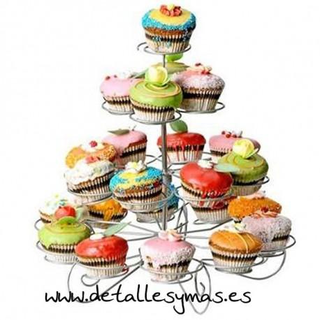 Soporte para 23 cupcake