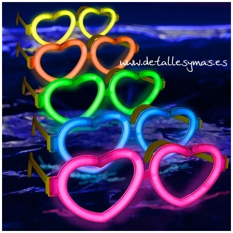 Gafas Luz Corazón