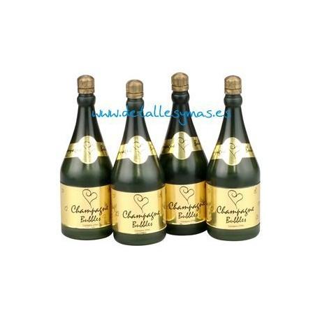 Pomperos botellitas de champán