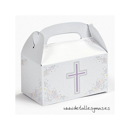 Caja comunión para chuches/ regalos