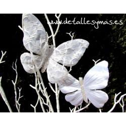 Mariposas de Raso . Pack de 2