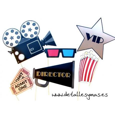 Set de photocall Hollywood