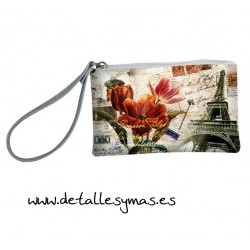 Monedero Portatodo Vintage Travel