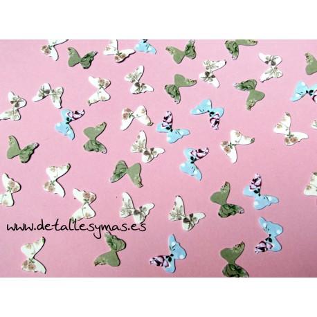 Confetti mariposas vintage