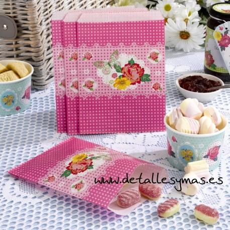 Bolsas para dulces Garden