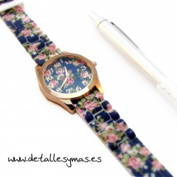 Reloj silicona de Flores
