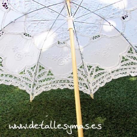Parasol comuniones de encaje