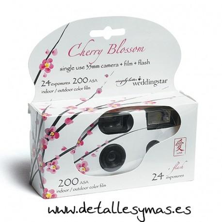 Camara desechable modelo Blossom
