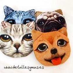 Monedero Perros y gatos
