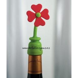 Tapón de botella Flor