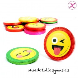 Monedas de Chocolate Emoticonos