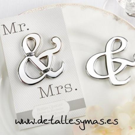 Abrebotellas Símbolo & (ampersand)
