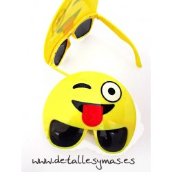 Gafas Emoticono Guiño