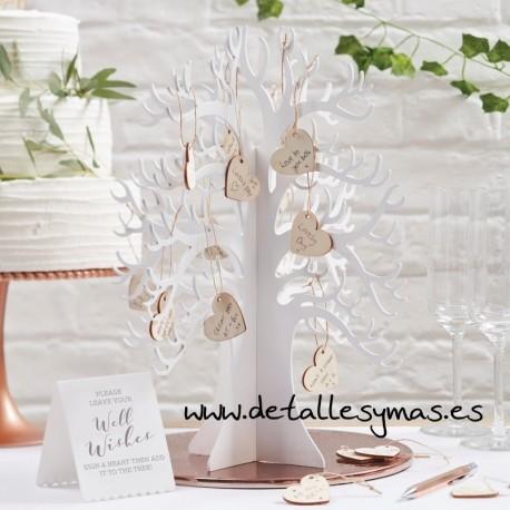 Árbol de los deseos madera