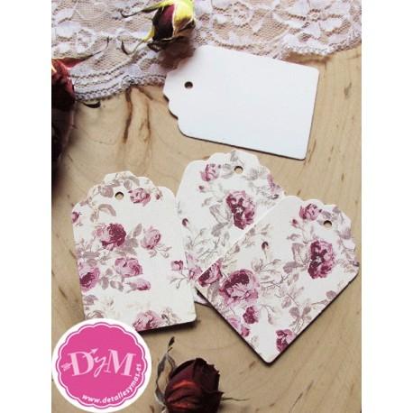 Tarjetas Vintage Flores Rosas