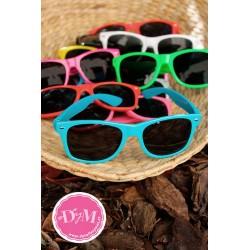 Gafas de sol de colores