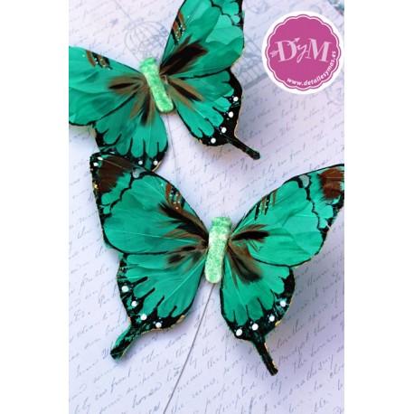 Mariposa de Pluma Verde mod. Nairobi