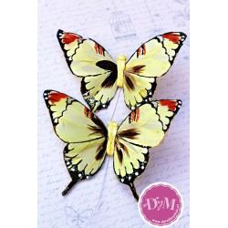 Mariposa de Pluma Amarilla mod. Kenia