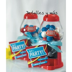 Dispensador de chicles. 5 Colores